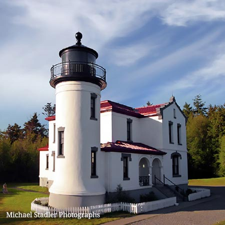 Whidbey Island lighthouse